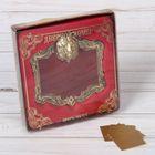 """Рамка дверная в подарочной коробке """"Медведь"""" (цвет латунь), 10 х 10,9 см"""