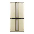 Холодильник Sharp SJ-F95STBE, 605 л, класс А, Full No Frost, двухкамерный, бежевый