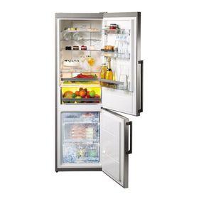 Холодильник Gorenje NRC6192TX, класс А+++, объем 222 л, двухкамерный, нержавеющая сталь