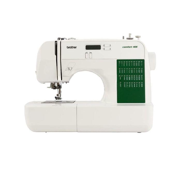 Швейная машина Brother Comfort 40E, 40 операций, дисплей, белая