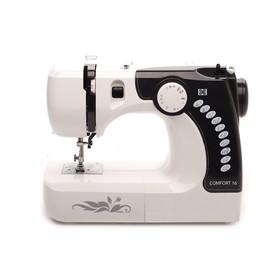 Швейная машина Comfort 16, 12 операций, электромеханическое управление, белая Ош
