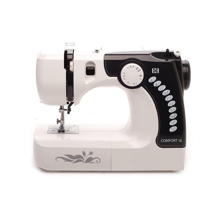 Швейная машина Comfort 16, 12 операций, электромеханическое управление, белая