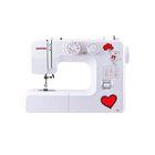 Швейная машина Janome 495, 19 операций, качающийся челнок, белая
