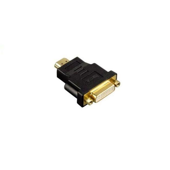 Адаптер DVI Hama H-34036 00034036, DVI-D(f) dual link, HDMI19 (m), позолоченные контакты