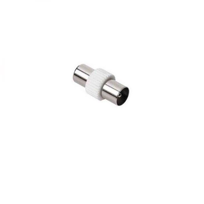 Адаптер антенный Hama H-43490 00043490, Coax (m), Coax (m), белый