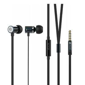 Наушники с микрофоном Oklick HS-S-410, вкладыши, в ушной раковине, провод 1.2 м, черные