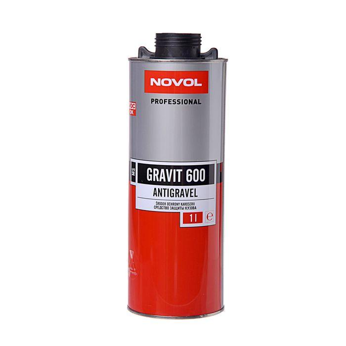 Антигравий Novol MS gravit 600 чёрный 1 л