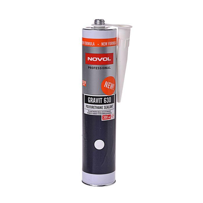 Полиуретановый герметик Novol gravit белый 630 300 мл