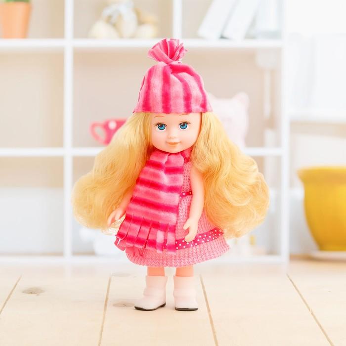 Кукла классическая «Маленькая Леди», в шапочке, МИКС