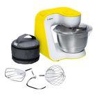 Кухонный комбайн Bosch MUM54Y00, 900 Вт, белый/желтый