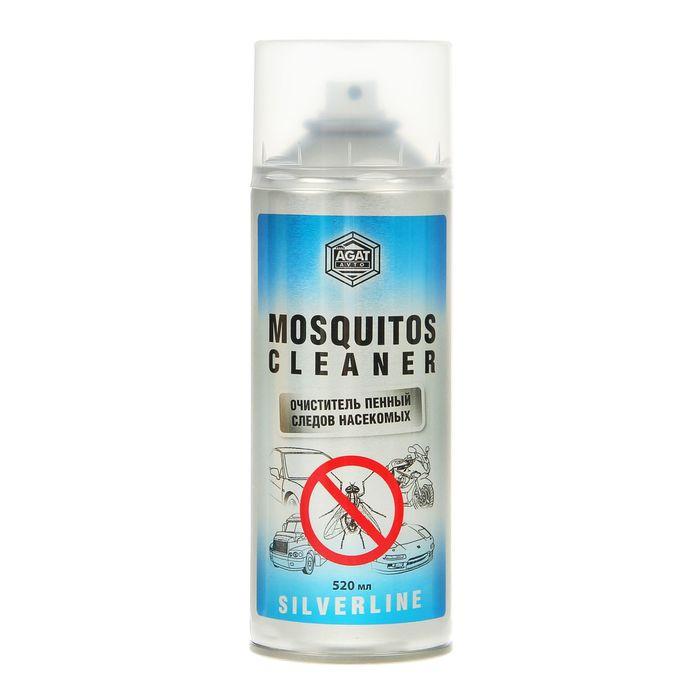 Очиститель следов насекомых Silverline, пенный, 520 мл, аэрозоль
