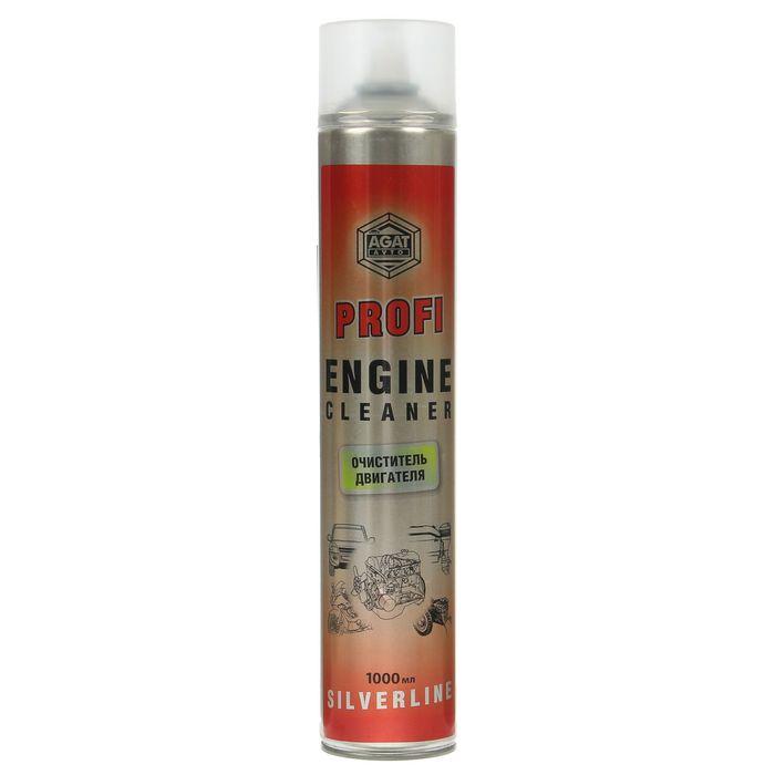 Очиститель двигателя Silverline PROFI, 1 л, аэрозоль