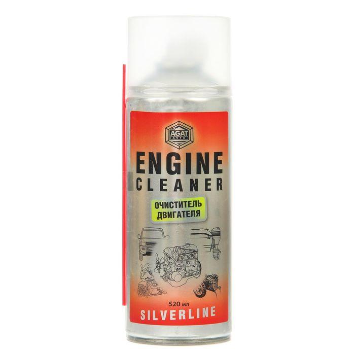 Очиститель двигателя Silverline, 520 мл, аэрозоль