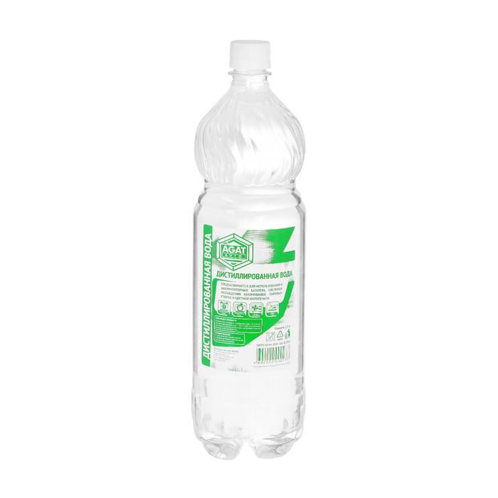 Вода дистиллированная АГАТ, 1,5 л