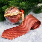 """Галстук в шаре с открыткой """"Волшебного Нового года"""""""