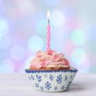 """Набор для выпекания кексов """"С Новым годом""""снежинки, набор 24 формочки"""