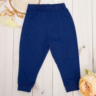 Штаны детские для мальчика, рост 68 см, цвет синий ш026(68)с1_М