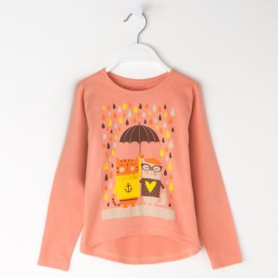 Джемпер для девочки, рост 104-110 см (30), цвет оранжевый