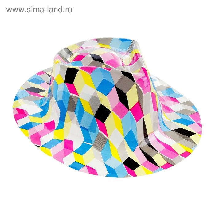 """Карнавальная шляпа с выямкой """"Мозаика"""""""