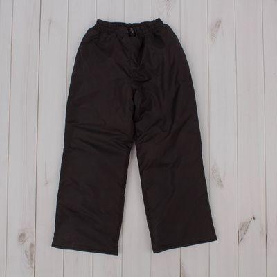 Брюки, рост 110 см, цвет чёрный ДЗ-0310