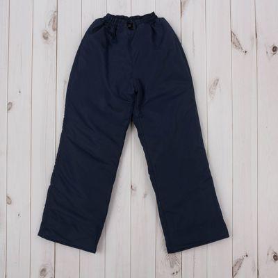 Брюки, рост 110 см, цвет синий ДЗ-0310