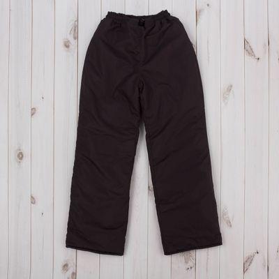 Брюки, рост 128 см, цвет коричневый ДЗ-0310