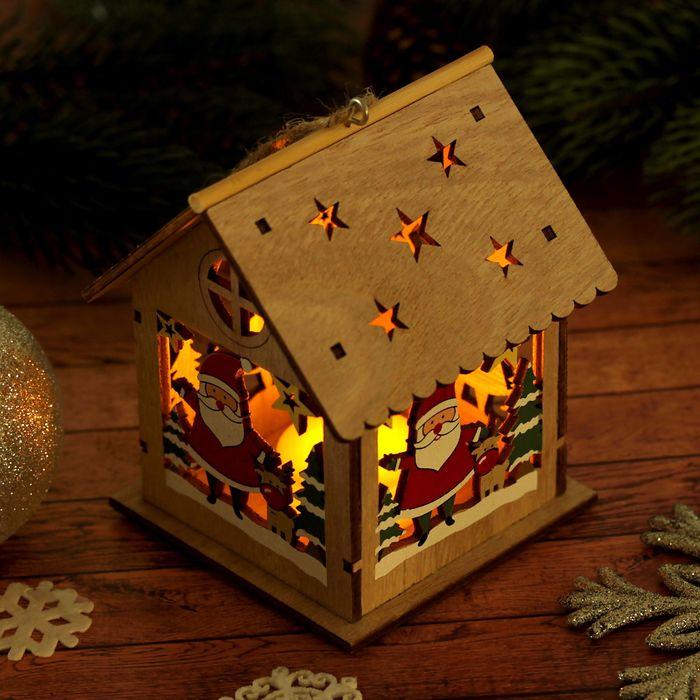 """Декор с подсветкой """" Новогодняя ночь"""""""