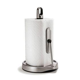 Держатель для кухонных полотенец с зажимом, нержавеющая сталь