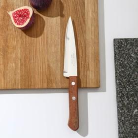 Нож поварской Tramontina Universal, лезвие 12,5 см, сталь AISI 420, деревянная рукоять