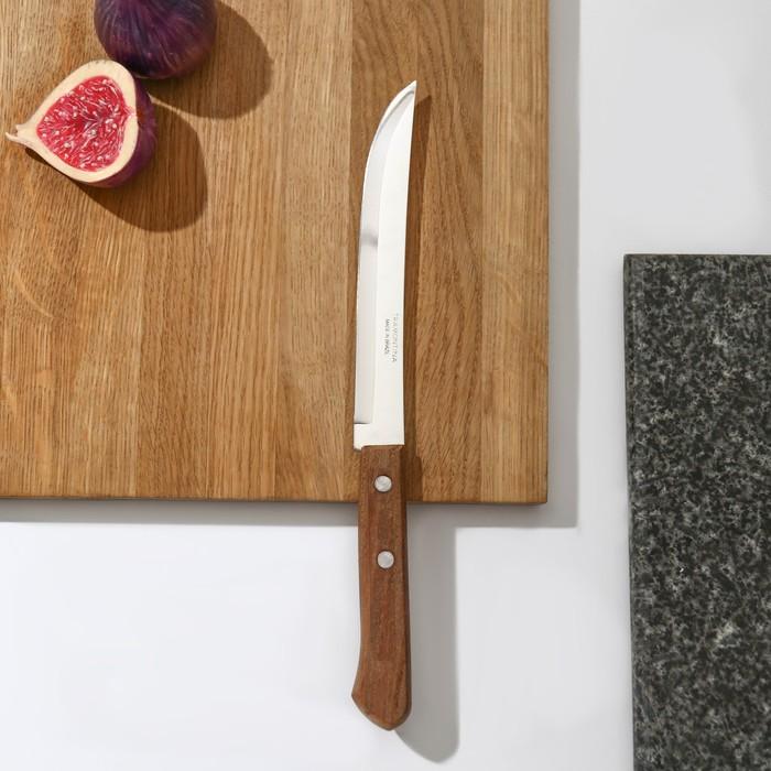 Нож кухонный Tramontina Universal универсальный, лезвие 15 см, сталь AISI 420, деревянная рукоять
