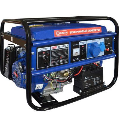 """Генератор """"ДИОЛД"""" ГБ-6500 А, бензиновый, 4Т, 6/6.5 кВт, 25 л, 220 В, электростарт"""