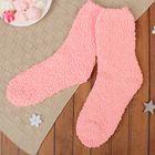 """Носки утеплённые """"Однотонные"""", размер 19-25, цвет светло-розовый"""