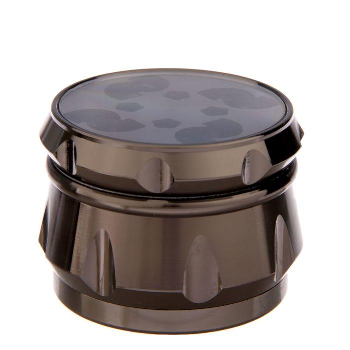 Измельчитель для табака с ситом, цвет микс, 6х6х4.5см