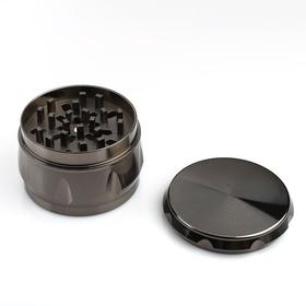 Измельчитель для табака с ситом, цвет микс, 6х6х4.5 см