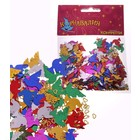 """Карнавальное конфетти """"Голуби и сердечки"""", 2 размера, 14 гр"""