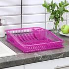 Сушилка для посуды «Степ», цвет МИКС