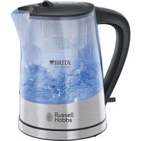 Чайник электрический Russell Hobbs 22850-70, 2200 Вт, 1 л, пластик, подсветка, серебристый