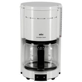 Кофеварка Braun KF 47/1, капельная, 1000 Вт, 1.3 л, белая