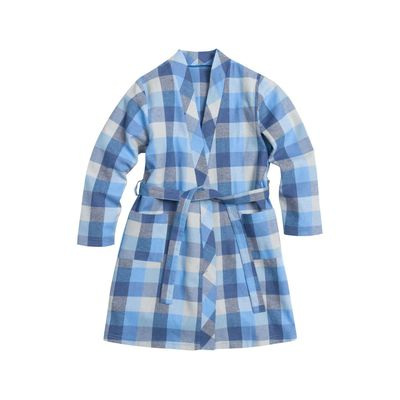 Халат для мальчиков, рост 98 см, цвет синий
