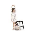 Ночная сорочка для девочек, рост 86 см, цвет молочный