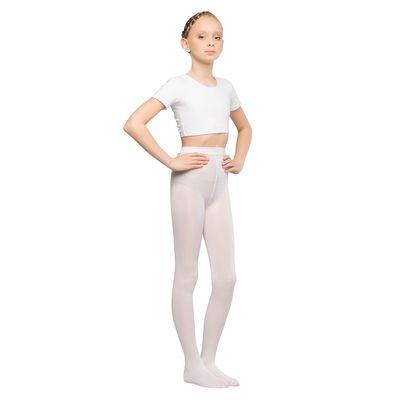 Колготки детские для танцев Liza, 40 ден, рост 116-128, цвет белый