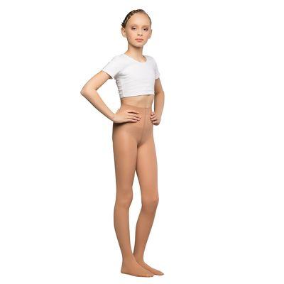 Колготки детские для танцев Liza, 40 ден, рост 116-128, цвет телесный