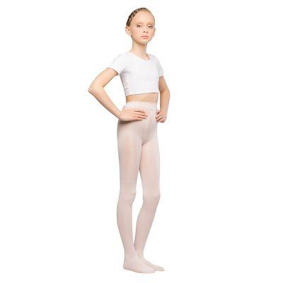Колготки детские для танцев Maya, 50 ден, рост 98-110, цвет розовый