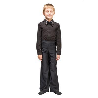 Рубашка бальная, размер 32, цвет чёрный