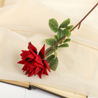 """Цветок искусственный """"Роза Стар"""" 9*56 см, бордовая"""