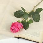 """Цветок искусственный """"Роза Боника"""" 8,5*6*56 см, розовая"""