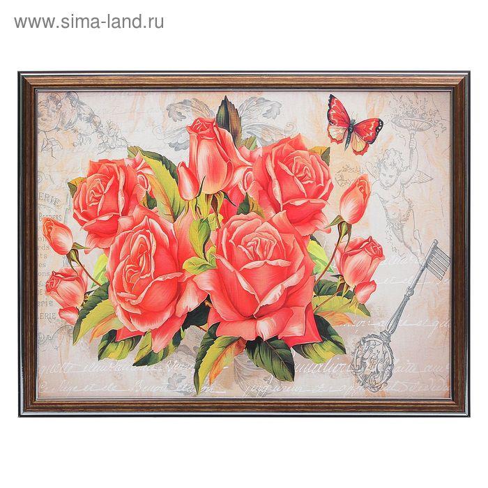 "Картина ""Розы"" 33*43 см"