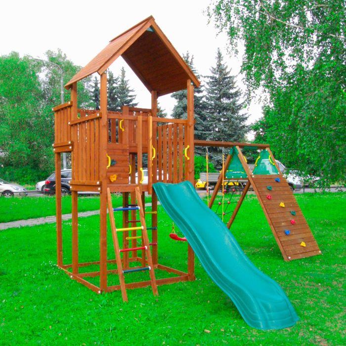 "Детский городок ""Jungle Palace + Climb Module  Xtra"" +1 стандартное сиденье"
