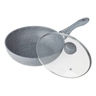 Сковорода ВОК 32 см SILVER MARBLE BK-7911