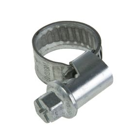 Worm clamp NORMA, diameter 8 -12 mm, tape width 9 mm, galvanized.